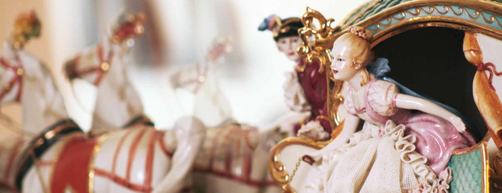 Bomboniere in porcellana di Capodimonte